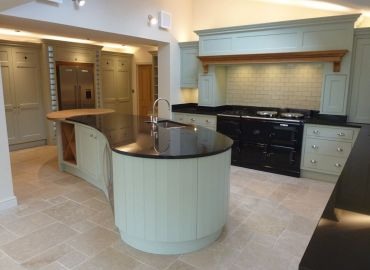 Hand Painted Shaker Style Kitchen, Hinksey Hill, Oxfordshire